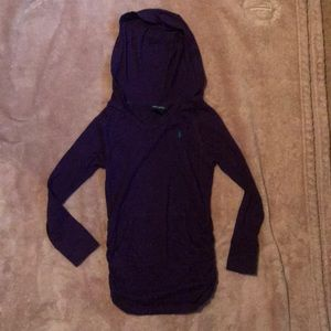 Girls Ralph Lauren Hooded Shirt